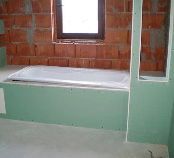 Гипсокартон в ванной - какой выбрать?