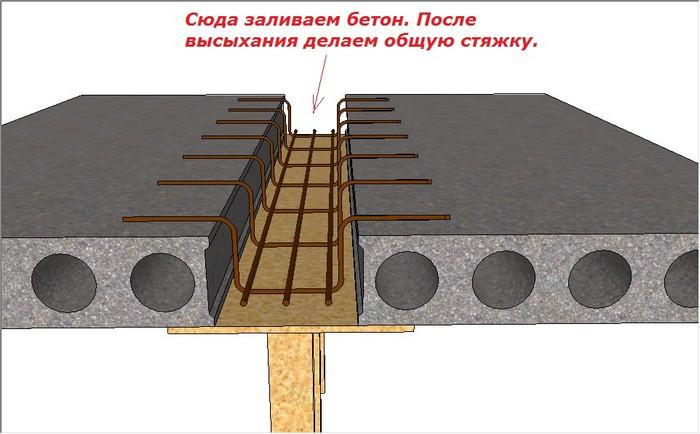 Рисунок 5. Схема армирования недостающего фрагмента.jpg