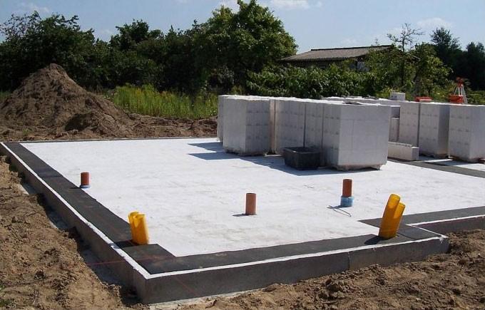 газобетонные блоки для фундамента