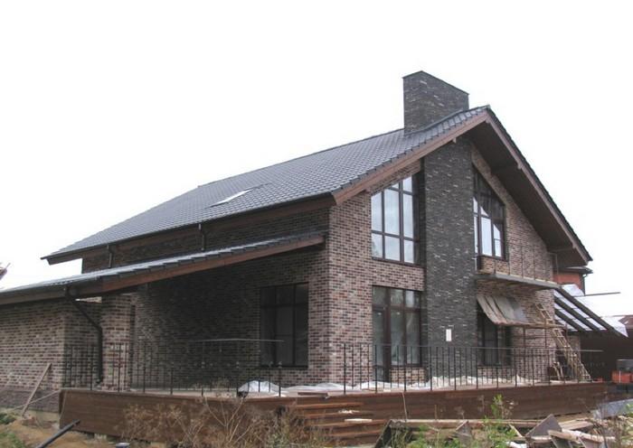 Поэтапное строительство дома из кирпича фото озеро имеет