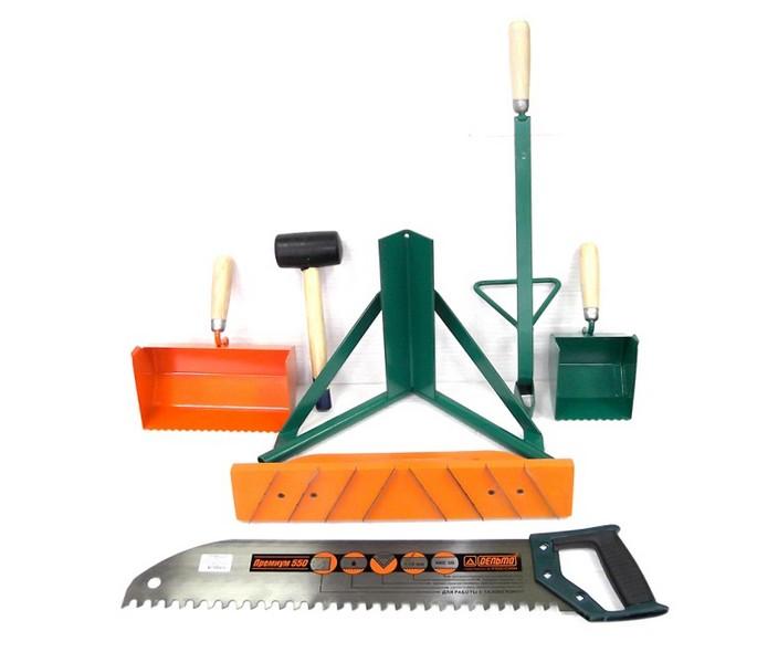 инструмент для укладки блоков