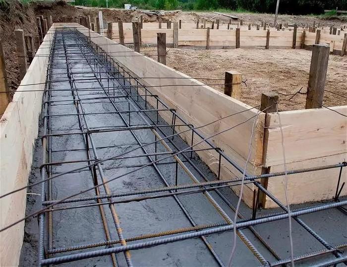 фундамент бетон армирование