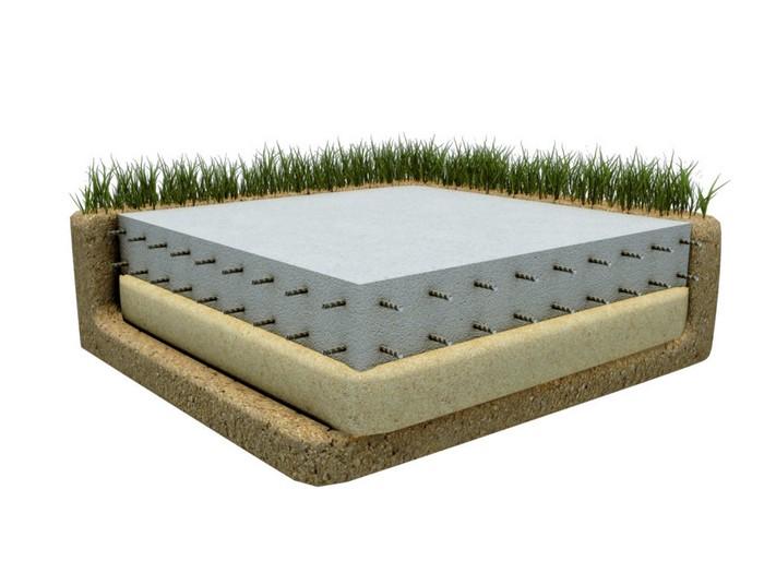 Рисунок 1. Конструкция плитного фундамента.jpg