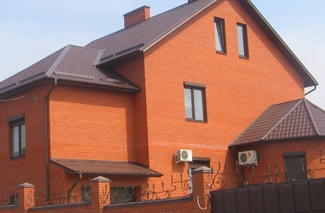 Цвет крыши