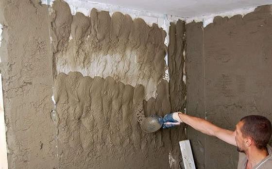Штукатурка стен песчано цементным раствором расход купить куб бетона с доставкой цена в минске