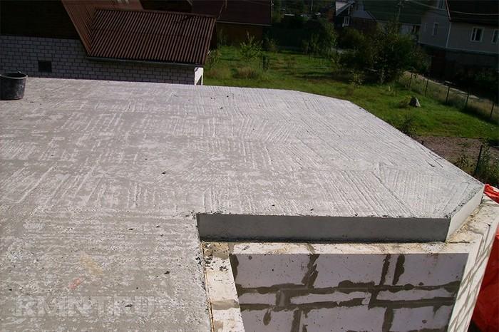 Межэтажное перекрытие бетоном теплый пол с керамзитобетона